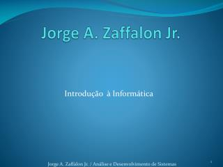 Jorge A.  Zaffalon  Jr.