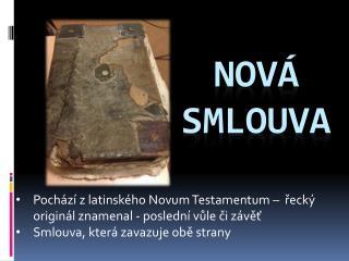 Nová smlouva