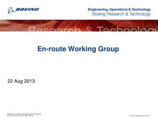 En-route Working Group