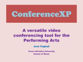 ConferenceXP