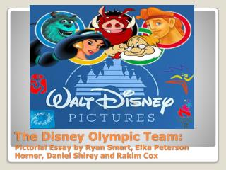 Disney Olympic Team: Source Log