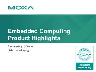Embedded Computing Product Highlights