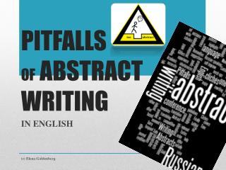 PITFALLS  OF  ABSTRACT  WRITING