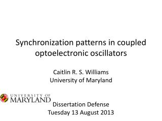 Synchronization patterns in coupled optoelectronic oscillators