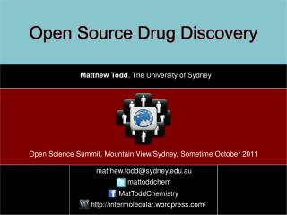 Open Source Drug Discovery