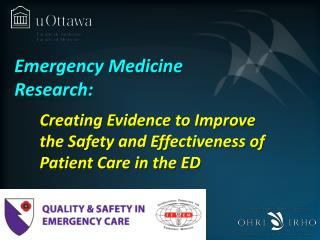 Emergency Medicine Research: