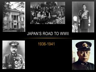 Japan's Road to WWII