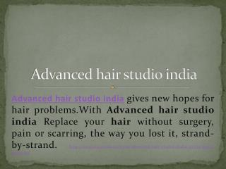 Advanced Hair Studio India