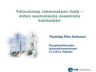 Ydinvoimaa rakennetaan lisää – miten suomalaista osaamista kehitetään