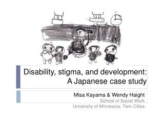 Disability, stigma, and development:  A  Japanese case study