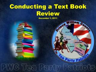 Conducting a Text Book Review December 1, 2011