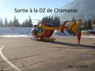 Sortie à la DZ de Chamonix