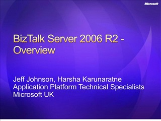 SBP309: Building and Monitoring End-to-End Processes with BizTalk ...