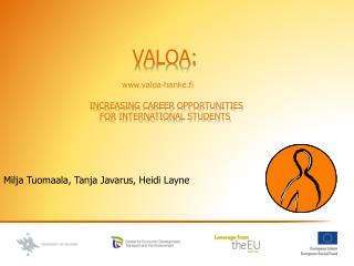 VALOA: increasing career opportunities for international  students