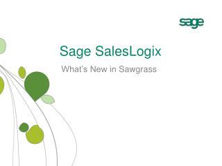 Sage SalesLogix