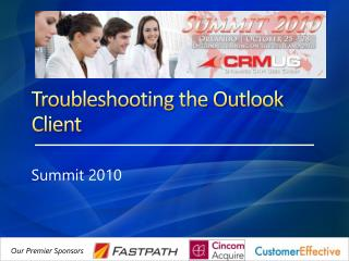 Troubleshooting the Outlook Client
