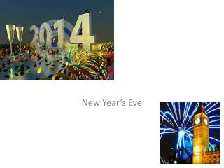 New Year�s Eve