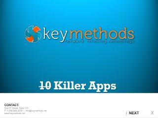 10  Killer Apps