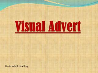 Visual Advert