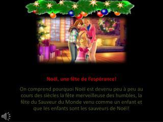 Noël, une fête de l'espérance!