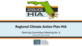 Regional Climate Action Plan HIA