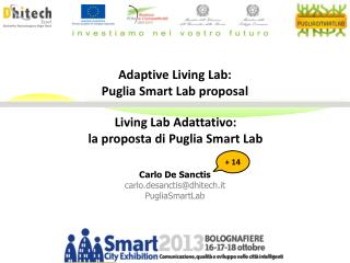Living Lab Adattativo: la proposta di Puglia Smart Lab