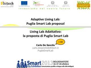 Living Lab Adattativo: la proposta di Puglia Smart Lab