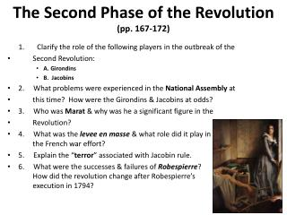 The Second Phase of the Revolution (pp. 167-172)