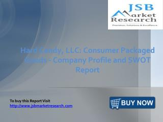 JSB Market Research: Hard Candy, LLC