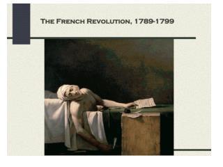 Second Stage Radical revolution