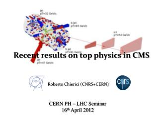Roberto  Chierici  (CNRS+CERN)