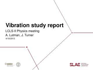 Vibration study report