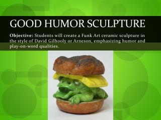 Good Humor Sculpture