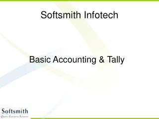 Accounting Basics and Tally - Part 1