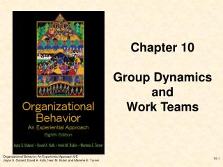 Organizational Behavior: An Experiential Approach 8
