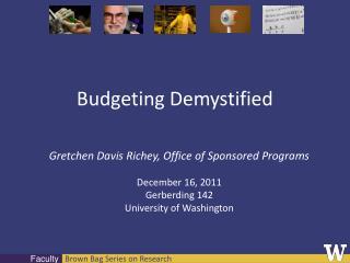 Budgeting Demystified