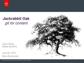 Jackrabbit Oak git for content