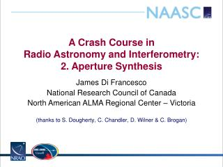 A Crash Course in Radio  Astronomy and  Interferometry : 2. Aperture Synthesis