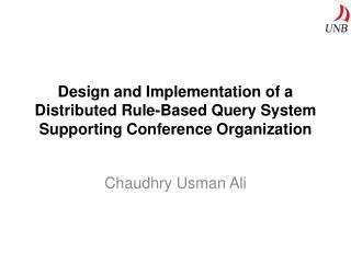 Chaudhry Usman Ali