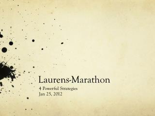 Laurens-Marathon