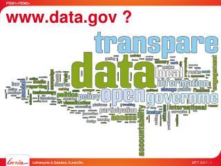 www.data.gov ?