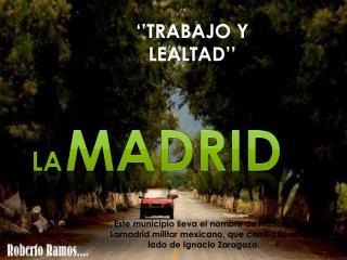 La Madrid