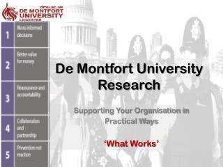 De Montfort University Research