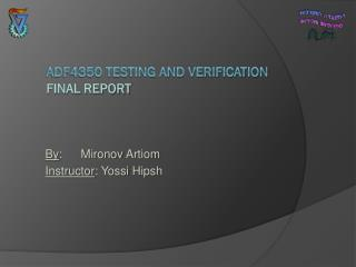 ADF4350 Testing and verification Final Report