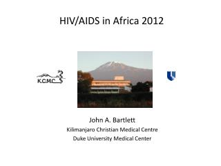HIV/AIDS in Africa  2012