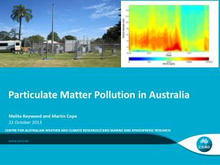 Particulate Matter Pollution in Australia
