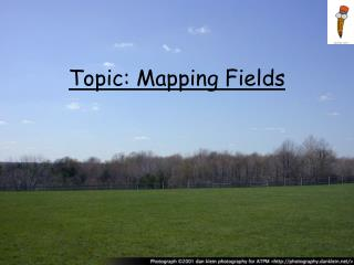 Topic: Mapping Fields