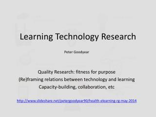 Learning Technology Research