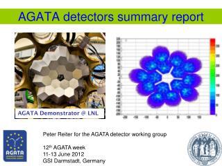 AGATA detectors summary report