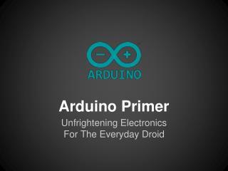 Arduino Primer